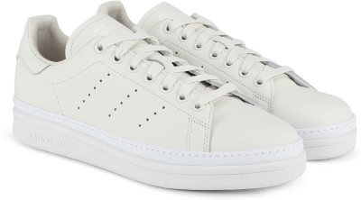 ADIDAS ORIGINALS STAN SMITH NEW BOLD W Sneakers For Women(White) at flipkart