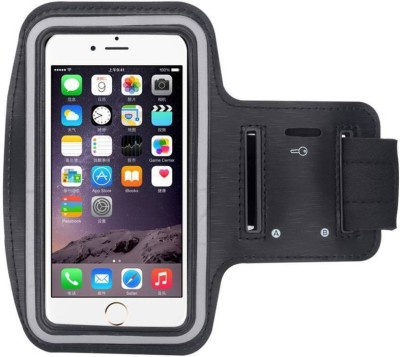ShutterBugs Arm Band Case for UNIVERSAL FOR ALL PHONE <6 inch>(Black, Waterproof, Plastic, Silicon)