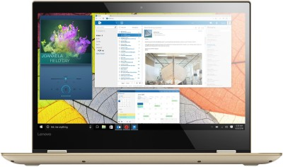 Lenovo Yoga 520 Core i3 8th Gen - (4 GB/1 TB HDD/Windows 10 Home) 520-14IKB 2 in 1 Laptop(14 inch, Gold Metallic, 1.70 kg, With MS Office) 1