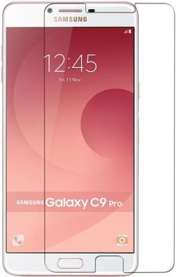 MOBIVIILE Tempered Glass Guard for Samsung Galaxy C9 Pro Pack of 1