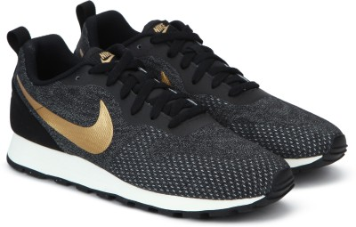 Nike MD RUNNER 2 ENG MESH Sneakers For Men(Black) 1