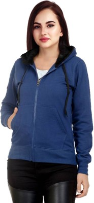 Rakshita Collection Full Sleeve Solid Women Sweatshirt