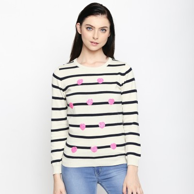 Honey By Pantaloons Casual Full Sleeve Striped Women