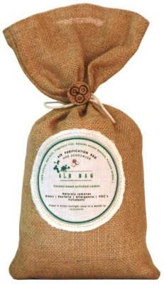 The Tree Company Air Bags- Air Purifying Bag/Deodorizer -100% Coconut Activated Carbon Naturally Purifies Air Removes Odours, Allergens And Harmful Pollutants Portable Room Air Purifier(Brown)  available at flipkart for Rs.999
