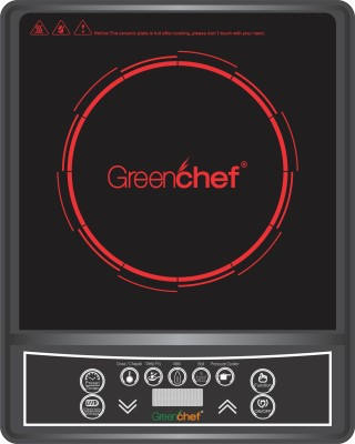 Greenchef Spectra Induction Cooktop(Black, Push Button)