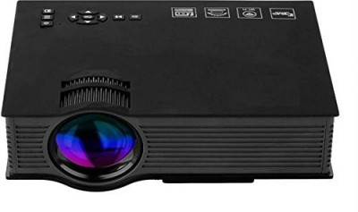 PLAY LED Projector Full HD Portable Projector (Black)