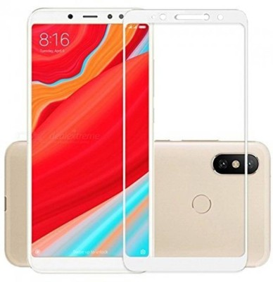 iZAP Edge To Edge Tempered Glass for Mi Redmi Y2(Pack of 1)