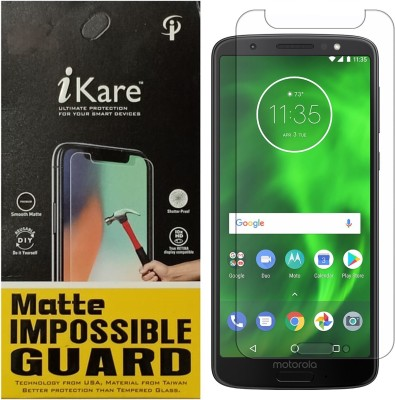 iKare Impossible Screen Guard for Motorola Moto G6(Pack of 1)