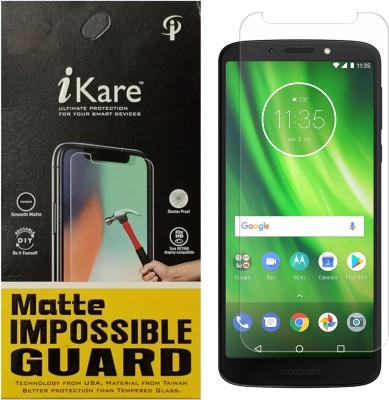 iKare Impossible Screen Guard for Motorola Moto G6 Play(Pack of 1)