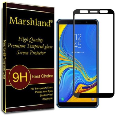 Hi Epower Edge To Edge Tempered Glass for Samsung Galaxy A7 (2018) (6D Full Glue Tempered Glass)(9H Tempered Glass)(Pack of 1)