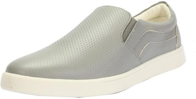 People Grey Casual Shoes Slip On Sneakers For Men(Grey)