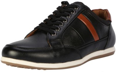 People Black Casual Shoes Casuals For Men(Black)