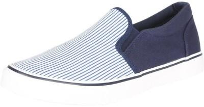 People People Navy Slip Ons Slip On Sneakers For Men(Navy, White)