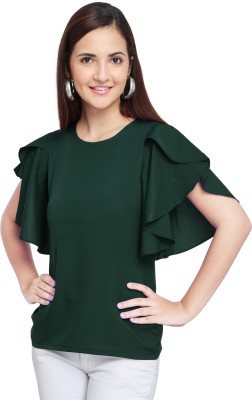 Oomph! Party Bell Sleeve Solid Women