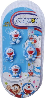 DORAEMON (R-TM) New Hot Model LCD Face changeable watch with 3 replacement dials Digital Watch  - For Boys & Girls