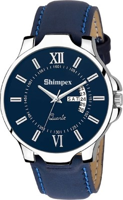 SHIMPEX 2455071 Day and Date MEN   BOY Analog Watch   For Boys SHIMPEX Wrist Watches