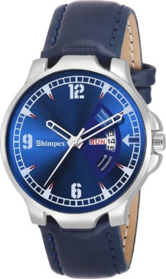 SHIMPEX 971091 1 Day and Date men   boy watch Analog Watch   For Boys SHIMPEX Wrist Watches