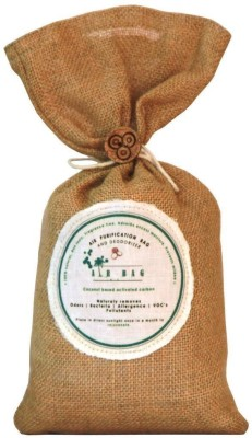 The Tree Company Air Bags- Air Purifying Bag/Deodorizer -100% Coconut Activated Carbon Naturally Purifies Air Removes Odors 500g Portable Room Air Purifier(Brown)  available at flipkart for Rs.999