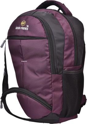 GOOD FRIENDS waterproof laptop 16 L Backpack Purple GOOD FRIENDS Backpacks