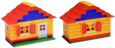 Nightstar Basic Architectural Building Block Game For Kid 180 Pcs  Min. Age 4 Yrs  Multicolor Nightstar Blocks   Building Sets