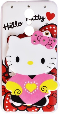 Marshland Back Cover for LG k10, Soft Silicon Printed Rubber Back Cover 3D Hello Kitty Cartoon Mirror View Designer(multicolor, 3D Case, Silicon)