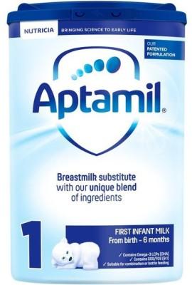 Aptamil 1 Frist Infant Milk From Birth - 6 Months 800g(800 g, Upto 6 Months) at flipkart