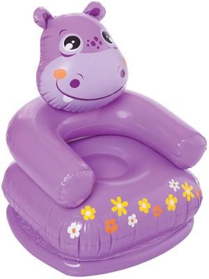 Navkar PVC 1 Seater Inflatable Sofa(Color - Purple)