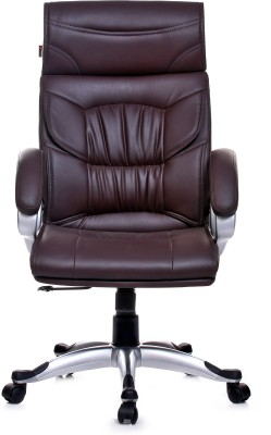 Adiko Leatherette Office Executive Chair(Brown)