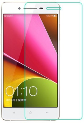 Priho Tempered Glass Guard for OPPO R7 Lite(Pack of 1)