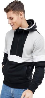 Genius18 Full Sleeve Solid Men's Sweatshirt