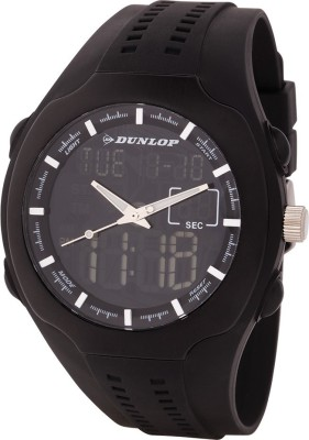 Dunlop DUN-275-G01  Analog-Digital Watch For Unisex