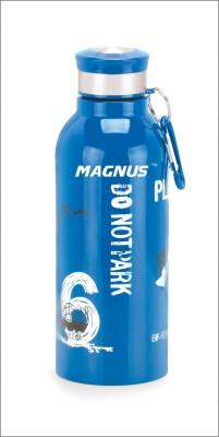Magnus ACTIVE 600 ML Stainless Steel Fridge Bottles, Blue 600 ml Bottle(Pack of 1, Blue, Steel)