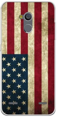 YuBingo Back Cover for ZTE Blade V7 Lite(American Flag, Waterproof, Silicon)