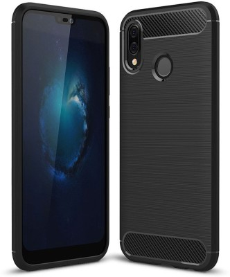 Case Creation Back Cover for Mi A2(Black, Sound Amplifying Case)