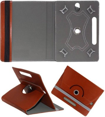 Cutesy Flip Cover for Iberry Bt07 7inch Bt-07 7.0(Brown, Cases with Holder)