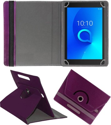 Fastway Flip Cover for Alcatel 3T8 (8 inch) Wi-Fi+4G Tablet(Purple, Cases with Holder)