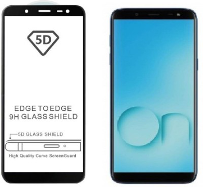 SEETU Edge To Edge Tempered Glass for Samsung Galaxy On8(Pack of 1)