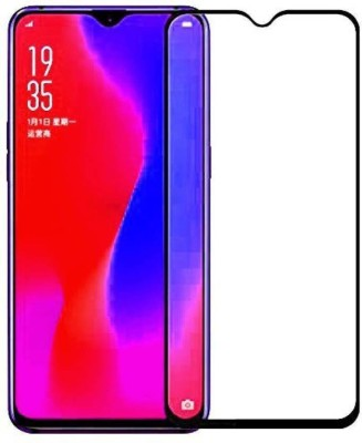 ajd Edge To Edge Tempered Glass for Oppo F9, OPPO F9 Pro, Realme 2 Pro, Realme U1, Realme 3 Pro(Pack of 1)