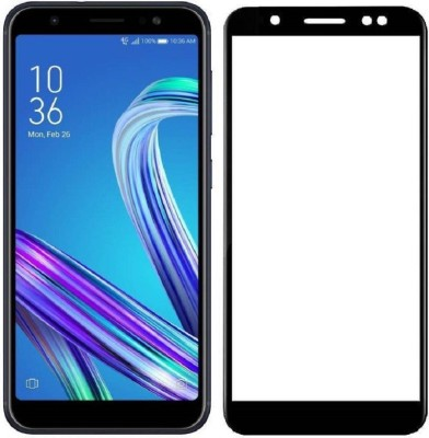 Classy Edge To Edge Tempered Glass for asus zenfone max m1 full glue black, asus zenfone max m1 full glue tempered glass(Pack of 1)