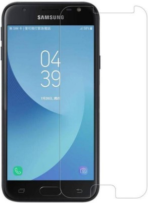 MOBICUBE Edge To Edge Tempered Glass for Samsung Galaxy J3(Pack of 1)
