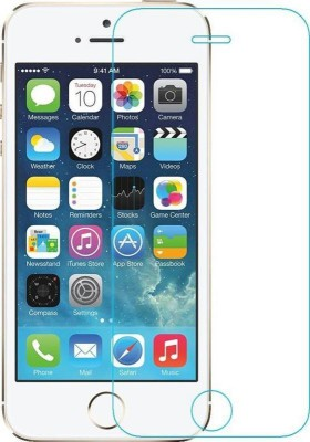 MOBICUBE Edge To Edge Tempered Glass for Apple iPhone 5s(Pack of 1)