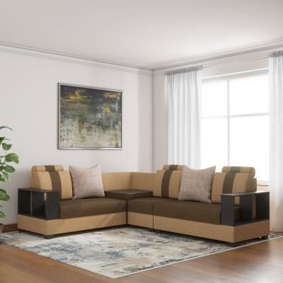 Sofame Fabric 5 Seater  Sofa