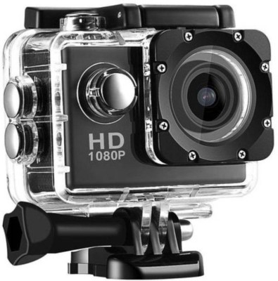 Like Star Action Shot Action Shot Full HD 12MP 1080P Black Helmet Sports Action Waterproof Sports and Action Camera Sports and Action Camera(Multicolor 12 MP) 1