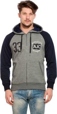 Alan Jones Full Sleeve Colorblock Men's Sweatshirt