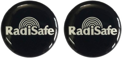 Radisafe REDISAFE anti-radiation chip/patch/Sticker for all electronic devices. (Pack of 2 ) Anti-Radiation Sticker(Mobile, Phone, Tablet, Generic, PC)