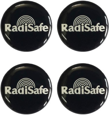 Radisafe REDISAFE anti-radiation chip/patch/Sticker for all electronic devices.(Pack of 4) Anti-Radiation Sticker(Mobile, Phone, Tablet, Generic, PC)