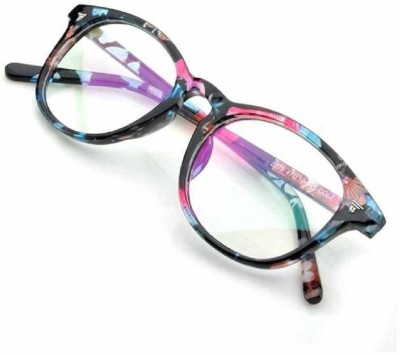 Eyevy Full Rim Round, Cat-eyed Frame(48 mm)