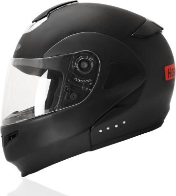 headfox BLUETOOTH SMART Motorsports Helmet(Black)