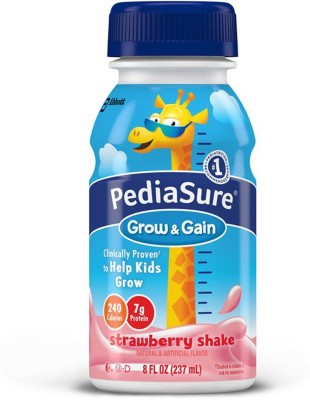Pediasure Grow & Gain 237ml (8oz) - Strawberry Shake(237 ml, 6) at flipkart