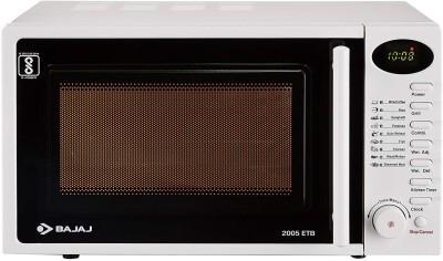 Bajaj 2005ETB 20L Grill Microwave Black Price